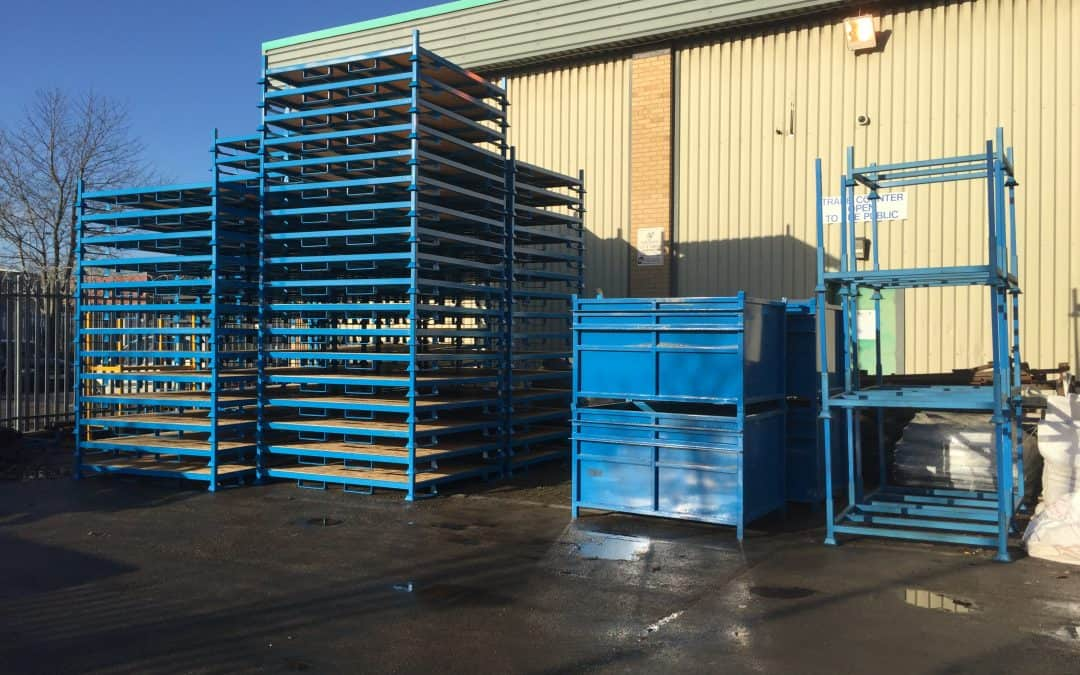 Steel Pallet & Stillage Manufactures