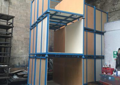 Box. Textile