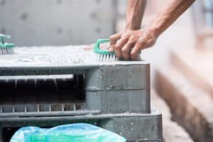 Metal Pallets Washing