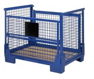 Blue steel pallet